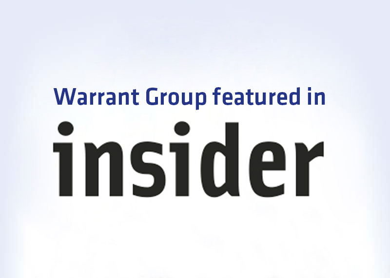 Warrant Group featured in North West Insider