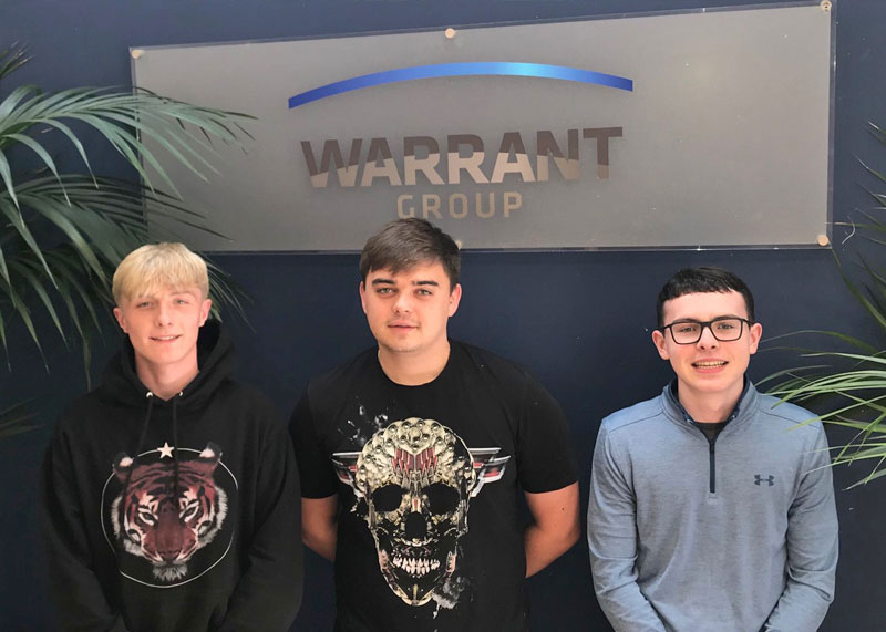Training the next generation at Warrant Group