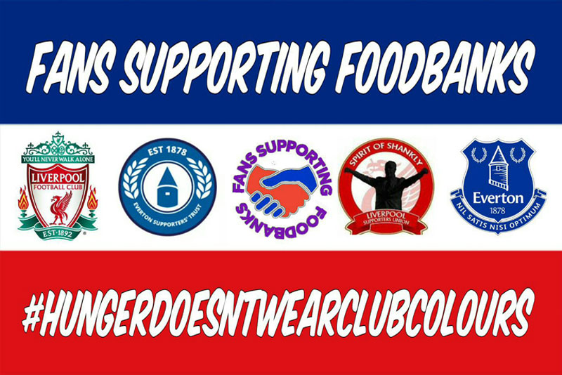 Warrant Group helps Fans Supporting Foodbanks at tomorrow's 228th Merseyside derby