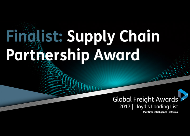 Global Freight Award finalist celebrations once again for Warrant Group